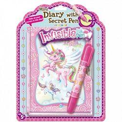 Pecoware Pamiętnik z niewidzialnym długopisem Jednorożec (170501NUC). od 5 lat