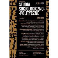 E-booki, Studia Socjologiczno-Polityczne 1(10)2019. Darmowy odbiór w niemal 100 księgarniach!