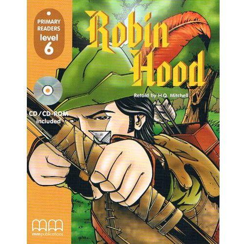 Książki do nauki języka, Robin Hood level 6+Cd (opr. miękka)