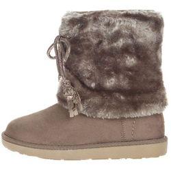 Wrangler® Yuk Fringes Kids Snow boots Szary 28 Przy zakupie powyżej 150 zł darmowa dostawa.