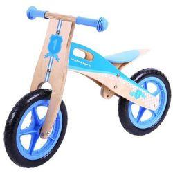 Rowerek biegowy z drewna (niebieski) BigJigs