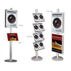 Display wolnostojący 2x3 z zaokrąglonymi narożnikami A2(420x594mm)