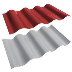 Płyta PCV falista dwustronna 2 x 1 m czerwono-szara