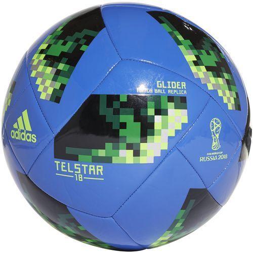 Piłka nożna, Piłka nożna ADIDAS CE8100 R.4 World Cup Telstar 18 Glider (Rozmiar 4)
