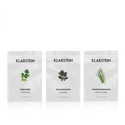 Klarstein Growlt Seeds Asia | 3 paczki nasion: kolendra bazylia tajska i czosnek bulwiasty