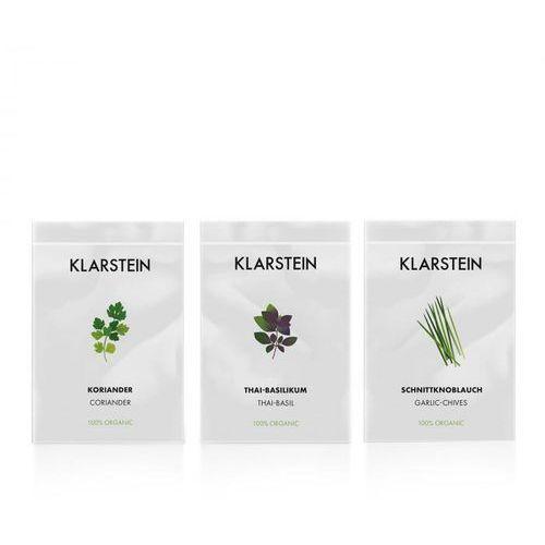 Nasiona, Klarstein Growlt Seeds Asia   3 paczki nasion: kolendra bazylia tajska i czosnek bulwiasty