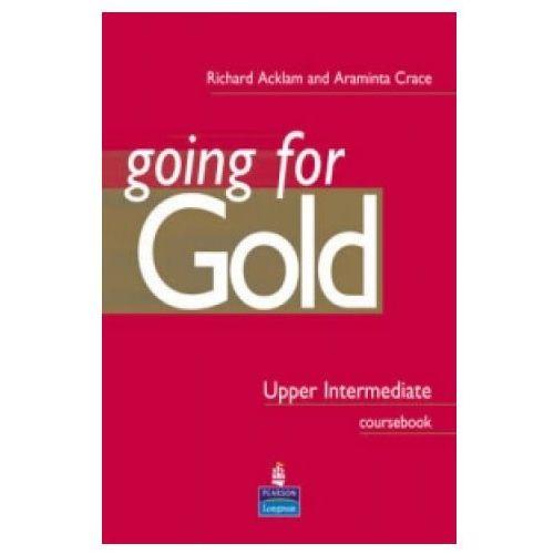 Książki do nauki języka, Going for Gold Upper-Intermediate CourseBook PL (opr. miękka)