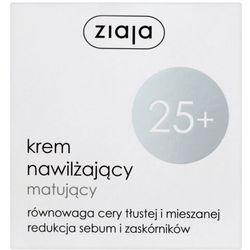 ZIAJA KREMY 25+ Krem nawilżający matujący do twarzy szyi na dzień 50ml