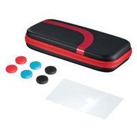 Akcesoria do Nintendo Switch, Etui HAMA 3w1 do Nintendo Switch Czarno-czerwony