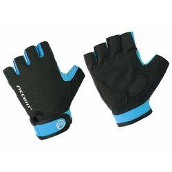 Rękawiczki Accent Bora czarno-niebieskie XXL