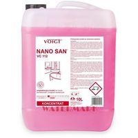 Płyny i żele do czyszczenia armatury, NANO SAN 10l VC112 Voigt Czysta łazienka i przyjemny zapach