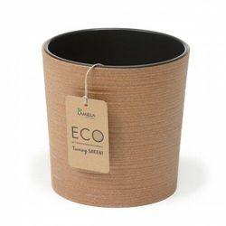 Donica Malwa ECO 19 cm naturalne drewno