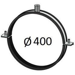 Obejma z uszczelką Średnice od DN 100-400 mm do rur Spiro Przewodów wentylacyjnych Średnica [mm]: 400
