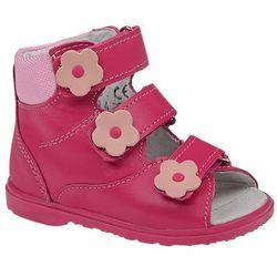 Trzewiki Profilaktyczne Ortopedyczne Buty DAWID 953-1 RC JP Różowe - Różowy ||Fuksja ||Multikolor