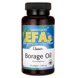 Swanson Borage Oil - Olej z ogórecznika 60 kaps.
