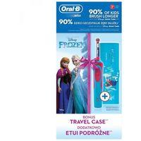 Szczoteczki do zębów, Szczoteczka rotacyjna ORAL-B Kids D12 Frozen + TC
