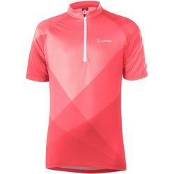 Löffler Half-Zip Bike Jersey Kids, czerwony 128 2021 Koszulki dziecięce trykotowe Przy złożeniu zamówienia do godziny 16 ( od Pon. do Pt., wszystkie metody płatności z wyjątkiem przelewu bankowego), wysyłka odbędzie się tego samego dnia.