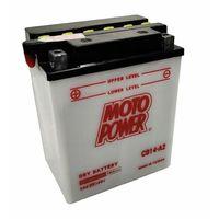 Akumulatory do motocykli, Akumulator motocyklowy Moto Power CB14-A2 YB14-A2 12V 14Ah 190A EN L+