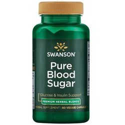 Swanson Pure Blood Sugar 60 kapsułek