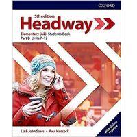 Książki do nauki języka, Headway 5E Elementary SB B + online practice - Praca zbiorowa (opr. broszurowa)