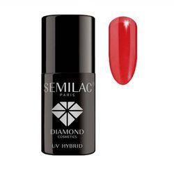 Semilac Paris UV Hybrid UV Hybrid żelowy lakier do paznokci odcień 039 Sexy Red 7 ml