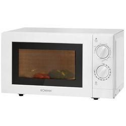Kuchenka mikrofalowa z grillem Bomann MWG 2289 CB (biała)