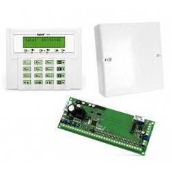 Komplet: Centrala alarmowa VERSA 15, manipulator VERSA-LCD-GR, obudowa OPU-4 P (bez transformatora)