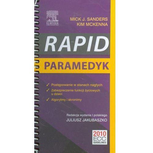 Książki medyczne, Paramedyk. RAPID (opr. miękka)
