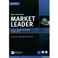 Książki do nauki języka, Market Leader Upper Intermediate. Podręcznik + DVD + MyEnglishLab (opr. miękka)