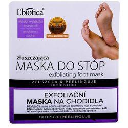 L´Biotica Foot Mask Exfoliating pielęgnacja stóp 1 szt dla kobiet