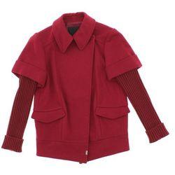 John Richmond Płaszcz dziecięcy Czerwony 6 lat Przy zakupie powyżej 150 zł darmowa dostawa.