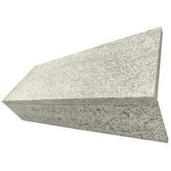 Schody granitowe szer. 80 cm szare płomieniowane komplet (stopnica + podstopnica)