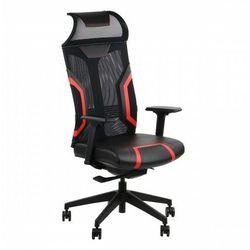 Fotel gamingowy obrotowy do komputera RYDER EXTREME BK/RD
