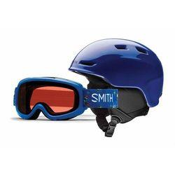 kask SMITH - Zoom Jr/Gambler Cobalt (5BK) rozmiar: 53/58