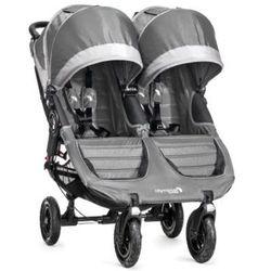 Baby Jogger Wózek spacerowy podwójny City Mini GT Double steel/gray