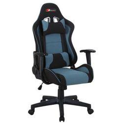 Fotel gamingowy SIGNAL Zanda czarny-niebieski - ZŁAP RABAT: KOD50