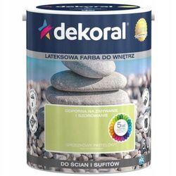 Farba Lateksowa Akrylit W Kolor Groszkowy Pastelowy 5l Dekoral