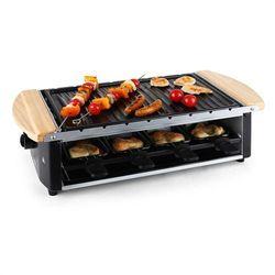 Klarstein Chateaubriand grill raclette płyta grillowa szpikulce na szaszłyki 8 osób 1200 watów Zamów ten produkt do 21.12.16 do 12:00 godziny i skorzystaj z dostawą do 24.12.2016