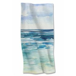 Ręcznik kąpielowy 70x140 cm Morze 4Y38A1 Oferta ważna tylko do 2023-07-02