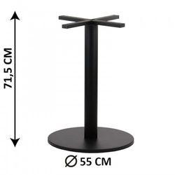 Podstawa stolika SH-2010-4/B, fi 55 cm, (stelaż stolika), kolor czarny