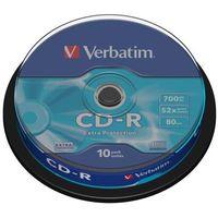 Płyty CD, DVD, Blu-ray, Płyta CD-R Verbatim 700MB Cake 10szt.
