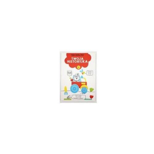 Książki dla dzieci, 300 naklejek. Twoja historyjka 3+ (czerwona) (opr. broszurowa)
