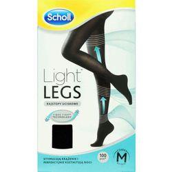 SCHOLL Light Legs Rajstopy uciskowe 60DEN rozmiar M czarne x 1 sztuka