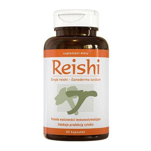 Pozostałe leki na układ krążenia, Reishi kaps.x 80 /A-Z Medica ( data waznosci 2014.01.30 )