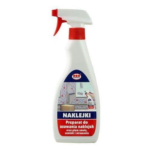 Pozostałe środki czyszczące, Oro Preparat do usuwania naklejek oraz plam smoły, szminki i atramentu 500 ml