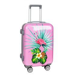 Mała walizka PASO różowa 4Y38DP Oferta ważna tylko do 2023-03-03