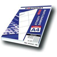 Etykiety biurowe, Etykiety 190 X 61,0 mm, 4 szt/A4 EMERSON uniwersalne (G) - X06645
