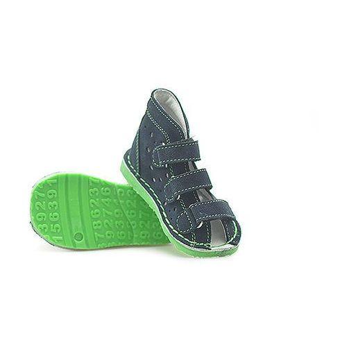 Buty profilaktyczne dla dzieci, Obuwie rehabilitacyjno-profilaktyczne Danielki WZTX115 Granatowe