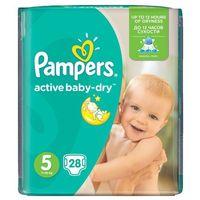 Pieluchy jednorazowe, PAMPERS Active Baby pieluchy 5 Junior 28szt pieluszki