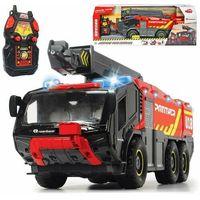 Jeżdżące dla dzieci, Dickie pojazd rc lotniskowa straż pożarna duża